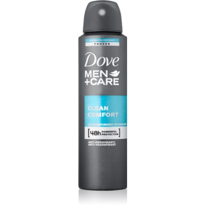 Dove Men+Care Clean Comfort déodorant anti-transpirant en spray 48h