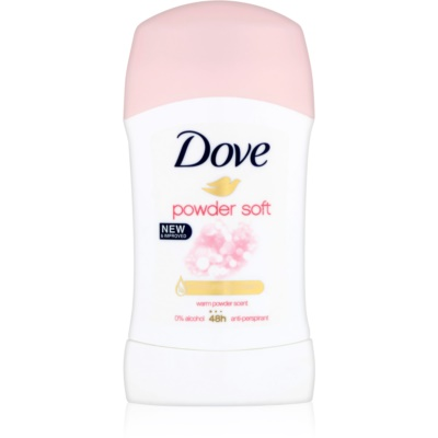 Dove Powder Soft tuhý antiperspitant 48h
