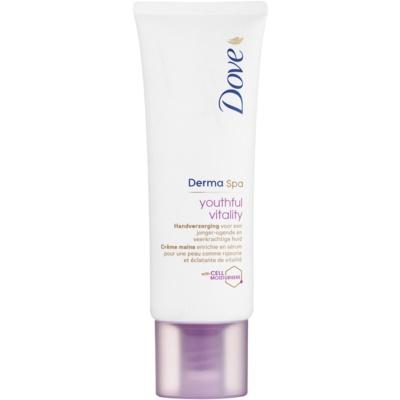 Dove DermaSpa Youthful Vitality kézkrém helyreállítja bőr rugalmasságát