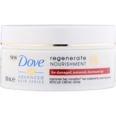 Regenerierende Maske für stark geschädigtes Haar