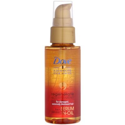 regenerujące serum w olejku do bardzo zniszczonych włosów