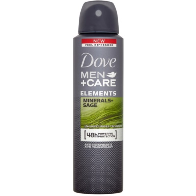Dove Men+Care Elements desodorizante antitranspirante em spray 48 h