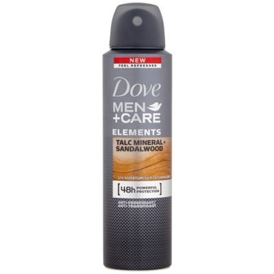 Dove Men+Care Elements spray anti-transpirant 48h
