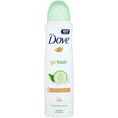 Dove Go Fresh Fresh Touch desodorizante antitranspirante em spray 48 h