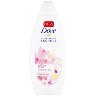 Dove Nourishing Secrets Glowing Ritual sprchový gel