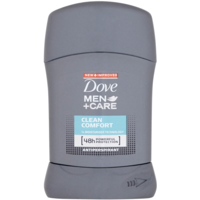 Dove Men+Care Clean Comfort festes Antitranspirant 48 Std.