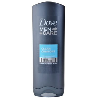 Dove Men+Care Clean Comfort τζελ για ντους