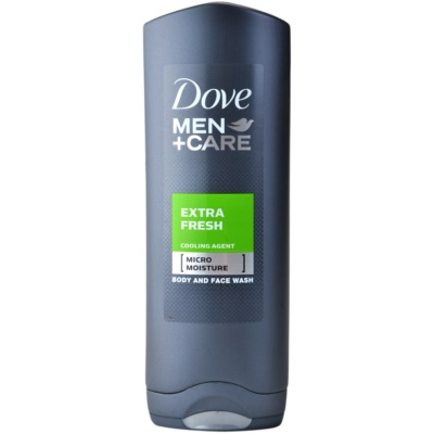 Dove Men+Care Extra Fresh gel de ducha para cara y cuerpo