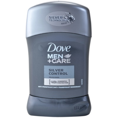 Dove Men+Care Silver Control tuhý antiperspitant 48h