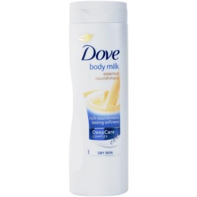 výživné telové mlieko  pre suchú pokožku