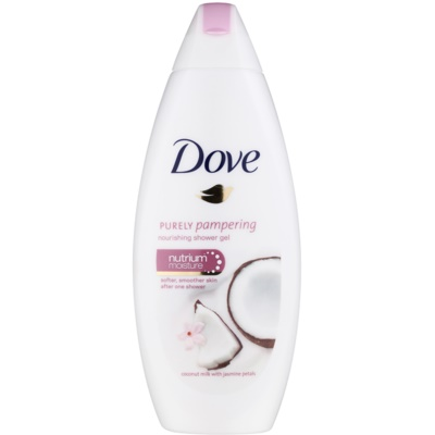 Dove Purely Pampering Coconut Milk vyživující sprchový gel