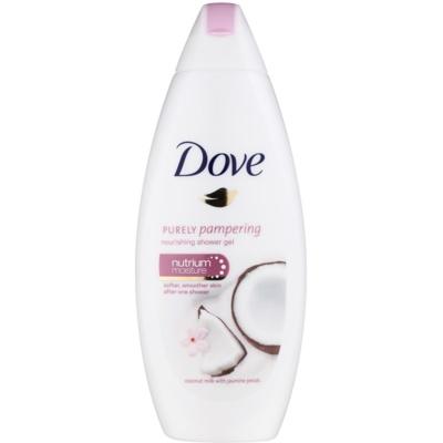 Dove Purely Pampering Coconut Milk vyživujúci sprchový gél
