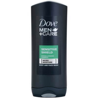 Dove Men+Care Sensitive Shield gel za prhanje za obraz in telo
