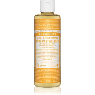 Dr. Bronner's Citrus & Orange Universal Liquid Soap