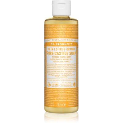 Dr. Bronner's Citrus & Orange υγρό σαπούνι γενικής χρήσης
