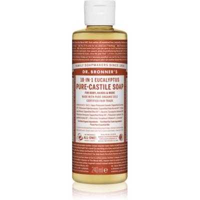 Dr. Bronner's Eucalyptus υγρό σαπούνι γενικής χρήσης