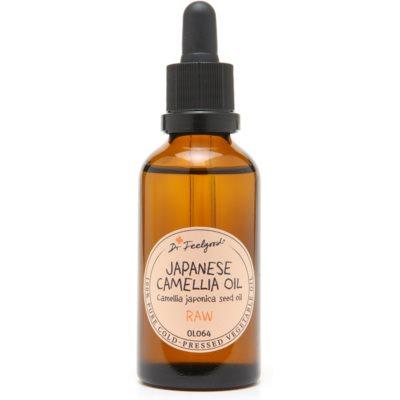 Öl aus den Samen der japanischen Kamelie