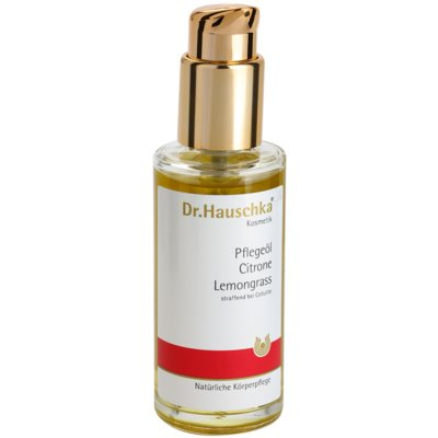 Body Oil With Lemon And Lemongrass