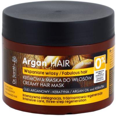 krémová maska pro poškozené vlasy