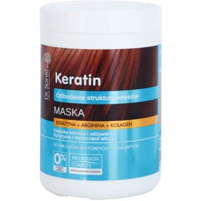 Dr. Santé Keratin mascarilla regeneradora y nutritiva para cabello quebradizo y sin brillo
