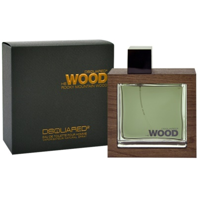 Dsquared2 He Wood Rocky Mountain Eau de Toilette für Herren