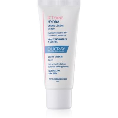 crema hidratante ligera  para pieles normales y secas
