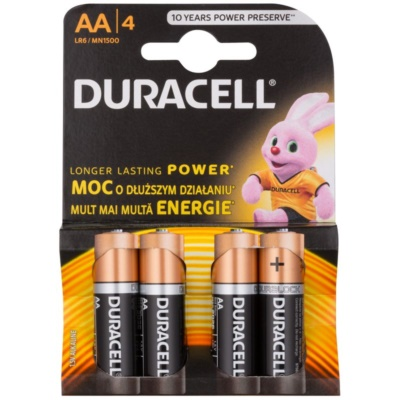 AA batteries, 4pcs