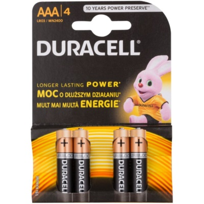 AAA batteries, 4pcs