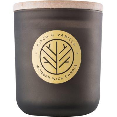 dišeča sveča  320,35 g z lesenim stenjem