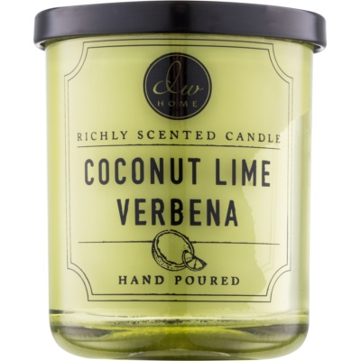 DW Home Coconut Lime Verbena bougie parfumée