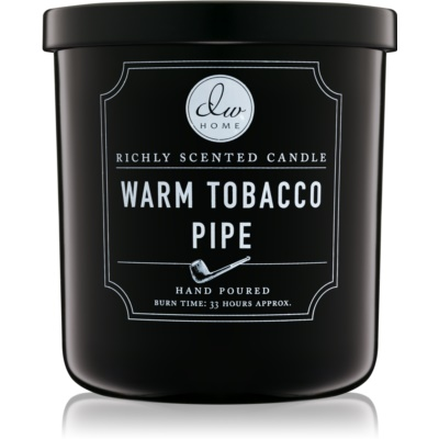 DW Home Warm Tobacco Pipe vela perfumado