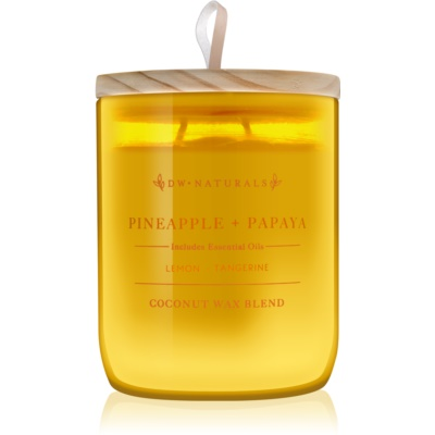 DW Home Pineapple + Papaya Scented Candle