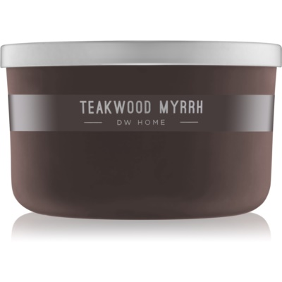 DW Home Teakwood Myrrh Scented Candle