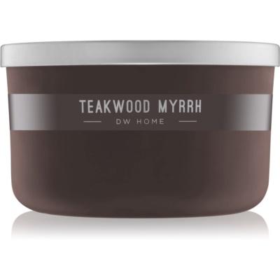 DW Home Teakwood Myrrh Scented Candle