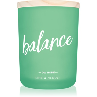 DW Home Balance bougie parfumée
