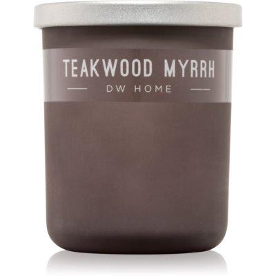 DW Home Teakwood Myrrh bougie parfumée