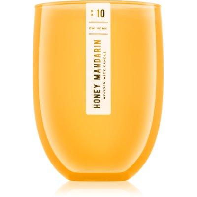 DW Home Honey Mandarin illatos gyertya  436 g fa kanóccal