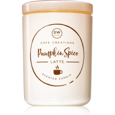 DW Home Pumpkin Spice Latte scented candle