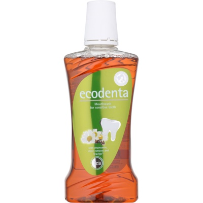 Ecodenta Chamomile & Clove & Teavigo Mouthwash For Sensitive Teeth