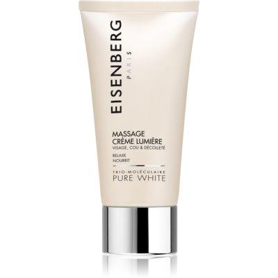 masažna krema za obraz za osvetljevanje kože in hidratacijo