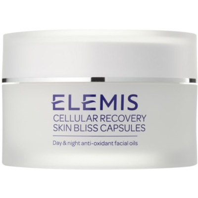 aceite facial antioxidante día y noche en forma de cápsulas