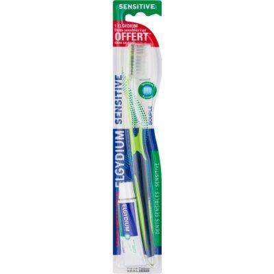 zubní kartáček + mini zubní pasta