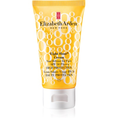 Elizabeth Arden Eight Hour Cream Sun Defense For Face слънцезащитен крем за лице SPF 50