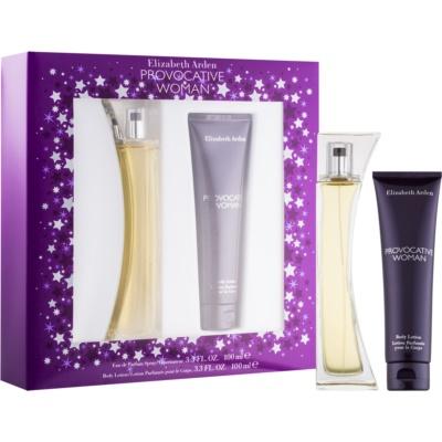 Elizabeth Arden Provocative Woman Gift Set II. Eau De Parfum 100 ml + Body Milk 100 ml