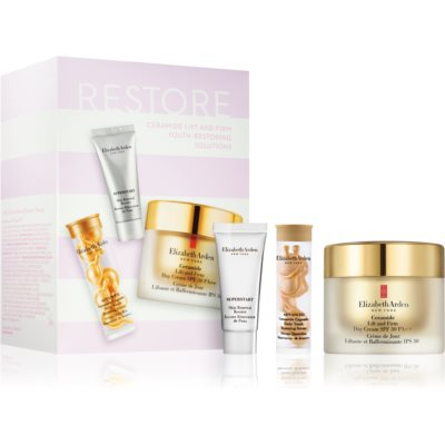 Elizabeth Arden Ceramide Lift and Firm Youth-Restoring Solutions coffret II. (para rejuvenescimento da pele) para mulheres