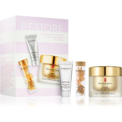 Elizabeth Arden Ceramide Lift and Firm Youth-Restoring Solutions косметичний набір II. (для омолодження шкіри) для жінок