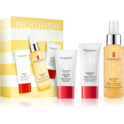 Elizabeth Arden Eight Hour Cream Miracle Moisturizers zestaw kosmetyków IV. (intensywnie nawilżający)