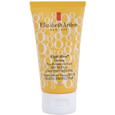 Elizabeth Arden Eight Hour Cream crema abbronzante viso SPF 50