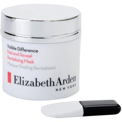 slupovací peelingová maska s revitalizačním účinkem