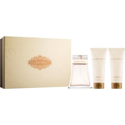 Ellen Tracy Ellen Tracy Gift Set I.  Eau De Parfum 100 ml + Body Milk 100 ml + Shower Gel 100 ml